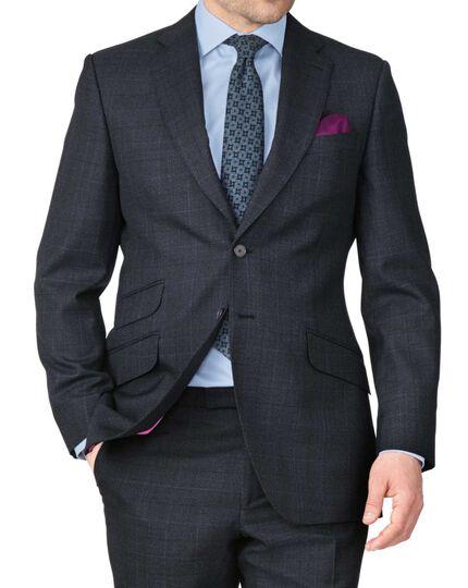 Slim Fit Luxusanzug Sakko in Blau aus Thornproof