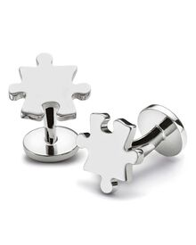 Jigsaw cuff links