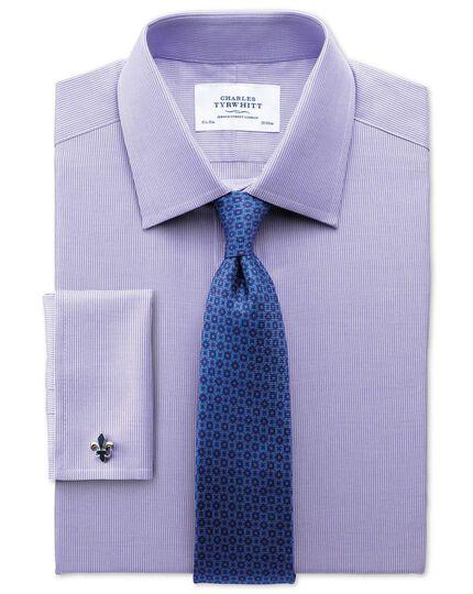 Classic Fit Oxford Lilac Shirt Charles Tyrwhitt
