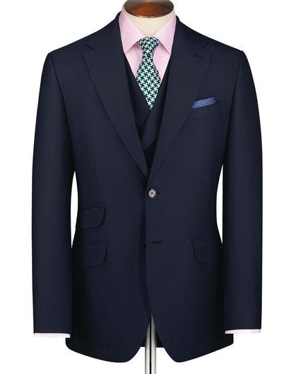 Navy slim fit Yorkshire worsted luxury jacket