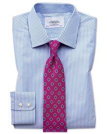 Classic Fit Hemd in himmelblau mit Bengal-Streifen