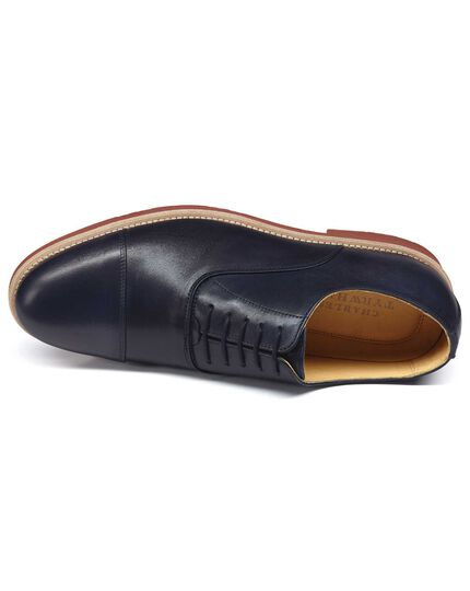 Navy Hornick Oxford shoes