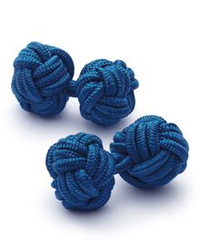 Royal knot cuff links