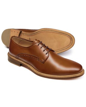 Lambourne Derby Schuh in Gelbbraun
