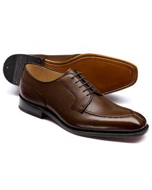 Brown Larrick apron Derby shoes