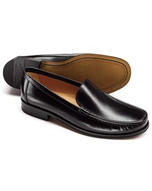 Black Bridgewater loafers