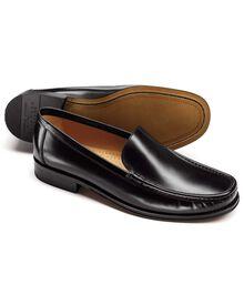 Black Bridgewater loafers