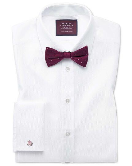 Slim fit luxury marcella white dinner shirt