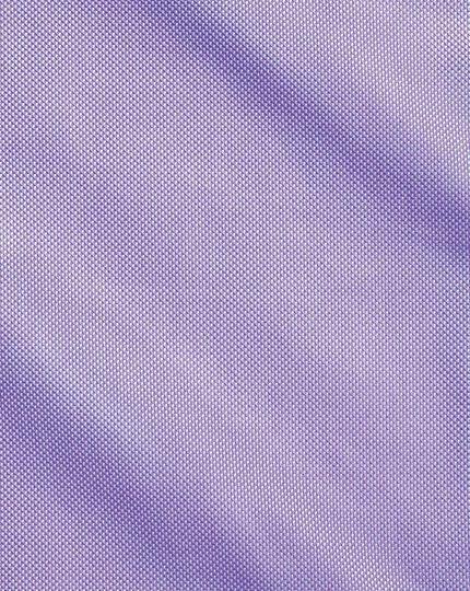 Chemise lilas en oxford royal de coton égyptien slim fit