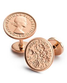 Six Pence cufflinks