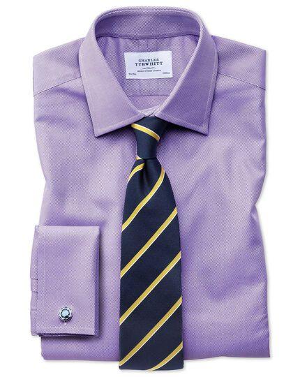Classic Fit Royal Oxfordhemd aus ägyptischer Baumwolle in Flieder