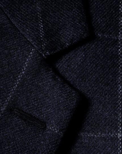 Slim Fit Luxus-Tweedsakko in Blau