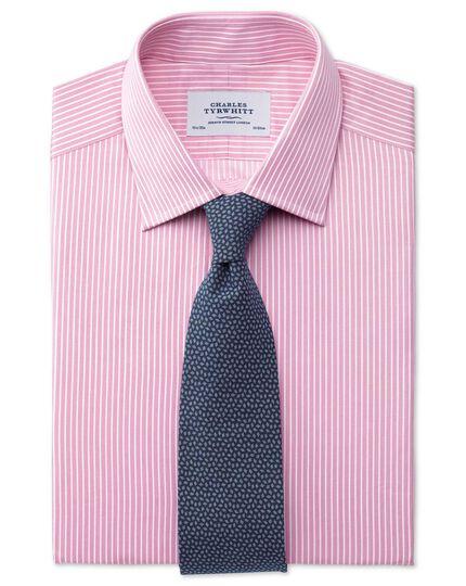 Indigo navy cotton luxury Italian diamond tie