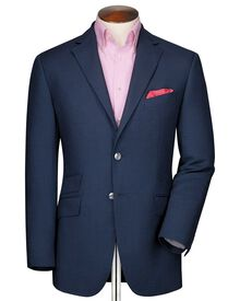 Classic fit royal birdseye wool jacket
