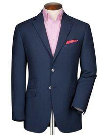 Classic fit royal birdseye wool jacket