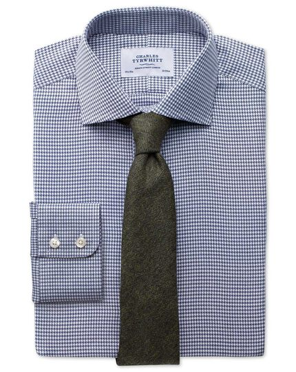 Olive wool flannel luxury tie