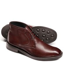 Ox blood Oakley chukka boots
