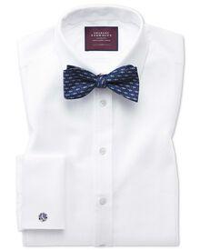 Extra slim fit luxury marcella white tuxedo shirt
