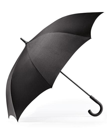 Klassischer Automatic-Regenschirm in schwarz