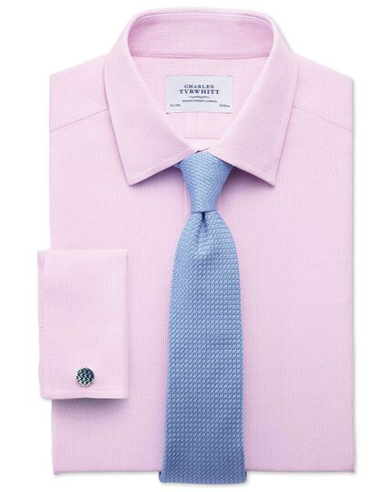 Sky silk Italian luxury plain grenadine tie