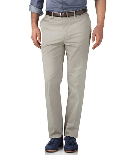 Stone classic fit stretch cavalry twill pants