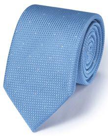Sky silk classic textured dash tie