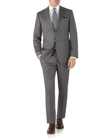 Grey slim fit Italian suit