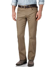 Stone classic fit stretch pique 5 pocket pants