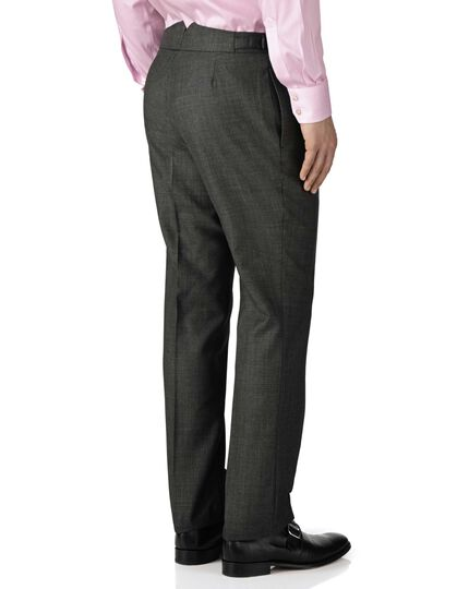 Grey slim fit morning suit pants