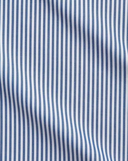 Classic Fit Hemd in Marineblau mit Bengal-Streifen
