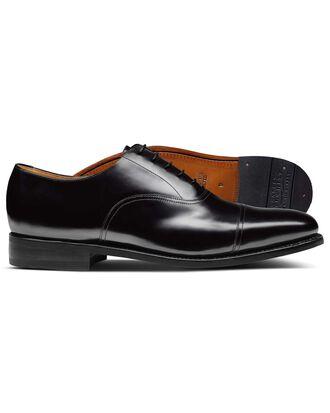Bennett Oxford-Schuh mit Zehenkappe in Schwarz