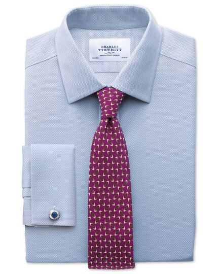 Berry wool printed luxury tie