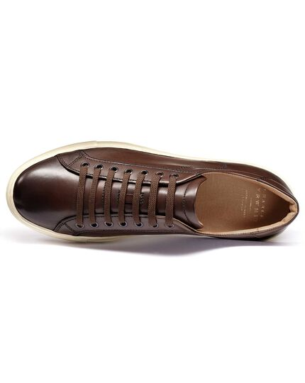 Brown Tutwell trainers