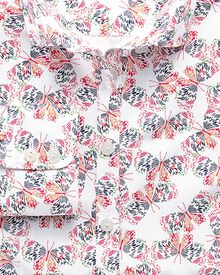 Women's semi-fitted multi print shirt