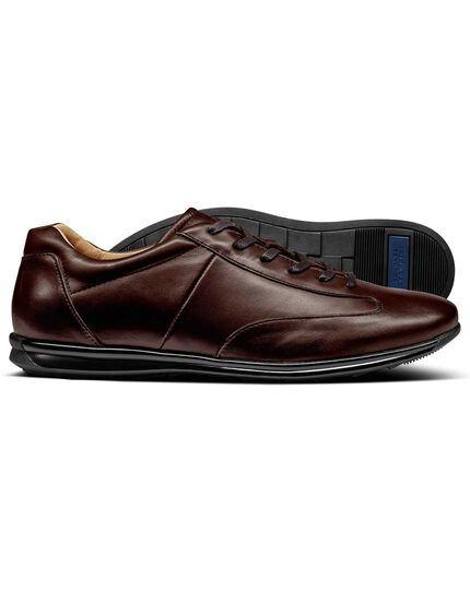 Brown Lansdowne trainers