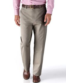 Stone classic fit stretch cavalry twill chinos