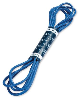 Blue shoe laces