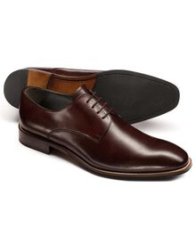 Brown Regent Derby shoes