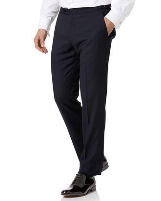 Pantalon de costume de soirée bleu marine slim fit