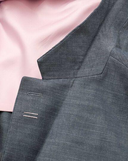 Classic fit chambray semi-plain jacket
