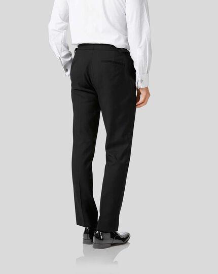 Slim Fit Smoking Hose in schwarz