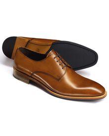 Grosvenor Derby-Schuh in gelbbraun