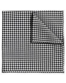 Black and white puppytooth classic pocket square