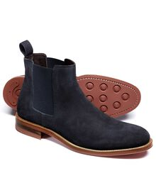 Northcott Chelsea Boots in Marineblau