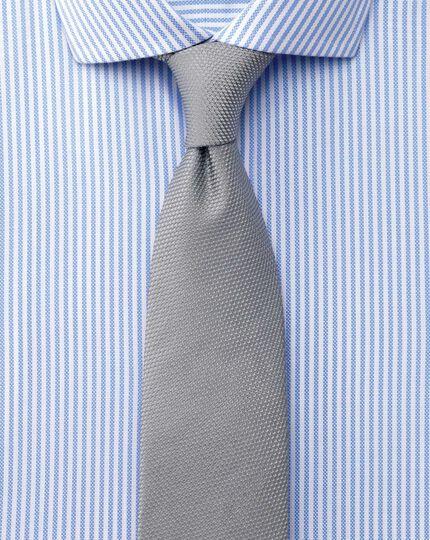 Extra slim fit cutaway collar non-iron royal Oxford stripe sky blue shirt