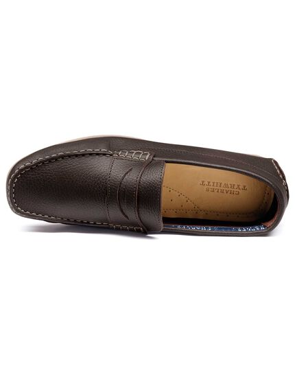 Brown Wanson loafers