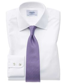 Extra slim fit Oxford white shirt
