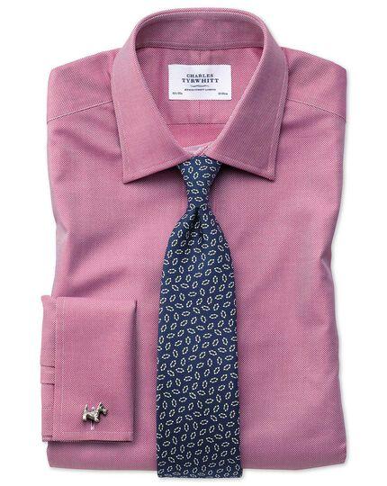 Extra Slim Fit Royal Oxfordhemd aus ägyptischer Baumwolle in Magenta