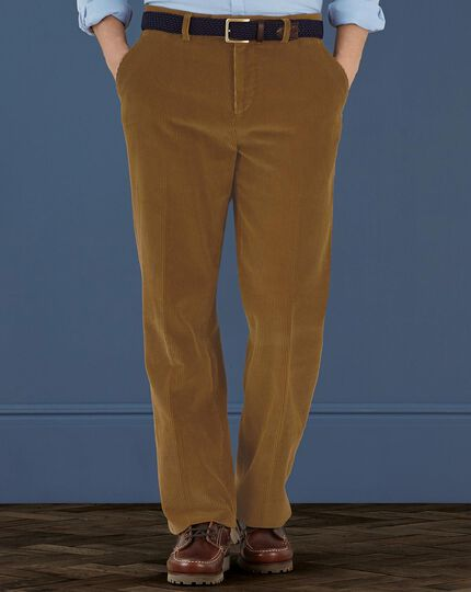 Corn cord classic fit pants