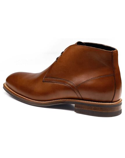 Tan Pembridge chukka boots